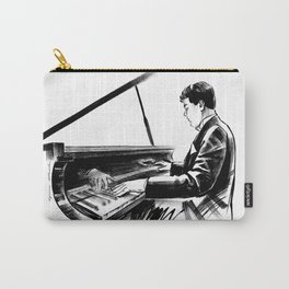 pianist plays the piano concert of classical music Carry-All Pouch