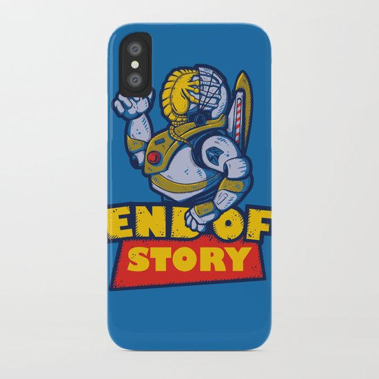 END OF STORY iPhone Case