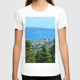 Bonaventure Island panoramic T-shirt