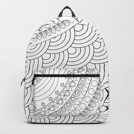 Ornate mandala Backpack
