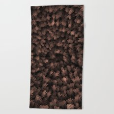 Thousand hands Beach Towel