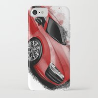 audi iPhone & iPod Cases featuring R8 V10 by an.artwrok