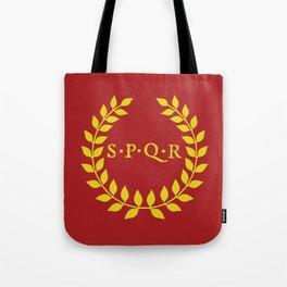 SPQR logo Tote Bag