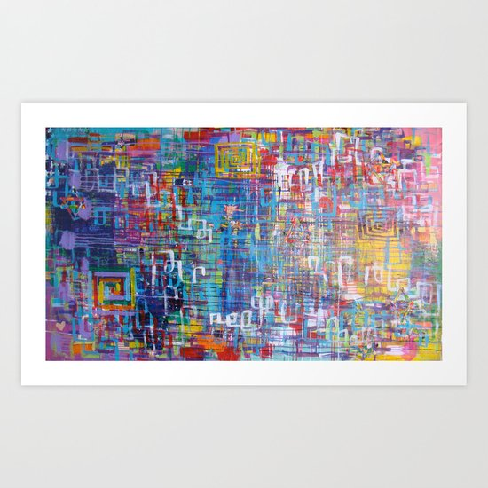 America 2008-2012 Art Print