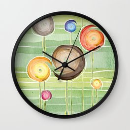Blooms festival (of flowers and feelings) Wall Clock