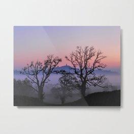 Through the trees to Glastonbury Metal Print