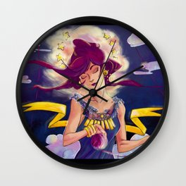 Moirai, Clotho Wall Clock