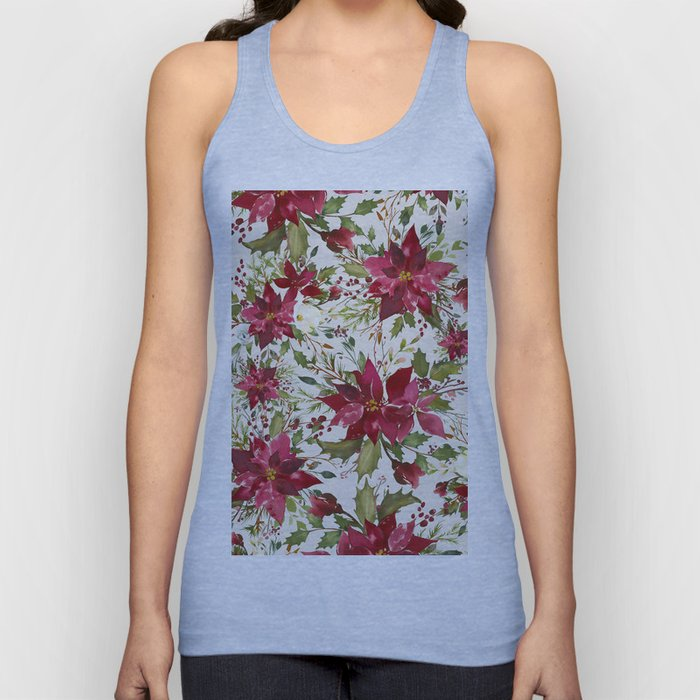 POINSETTIA - FLOWER OF THE HOLY NIGHT Unisex Tank Top