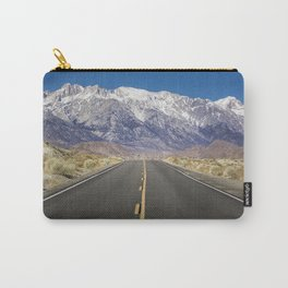 Snowcapped Sierras Highway 136 Carry-All Pouch