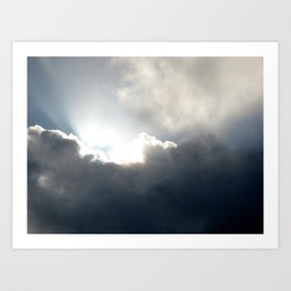 Jesus Light Art Print
