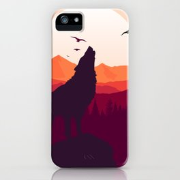 Bark At The Moon iPhone Case