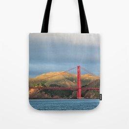 Golden Gate Bridge in San Francisco, California Tote Bag
