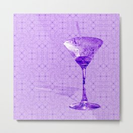 Cocktail for one Metal Print