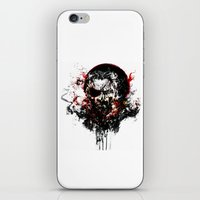 metal gear solid iPhone & iPod Skins featuring Metal Gear Solid V: The Phantom Pain by ururuty