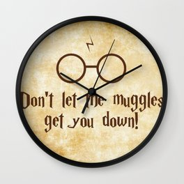 Muggles Wall Clock