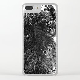 You talkin' to me? Clear iPhone Case