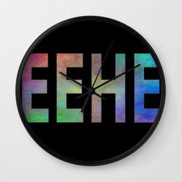 TEEHEE Wall Clock