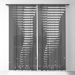 Bitnado Sheer Curtain