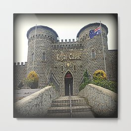 Kryal Castle Metal Print