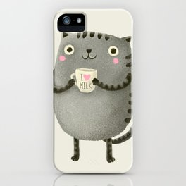 I♥milk iPhone Case
