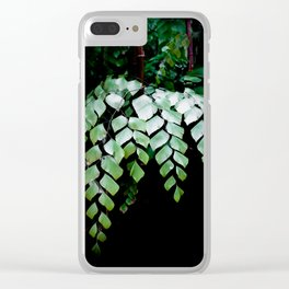 Diamond Maidenhair Clear iPhone Case