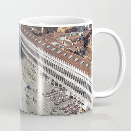 View of St. Mark's Square From St Mark's Campanile. Coffee Mug