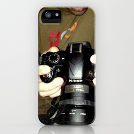 act of photography iPhone Case