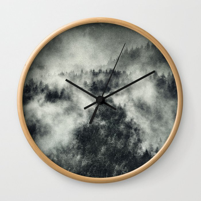 Recently // Dark Boogie Edit Wall Clock