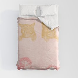 Contemplation of Cats Poster Comforters