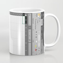 Excel Spreadsheet Coffee Mug