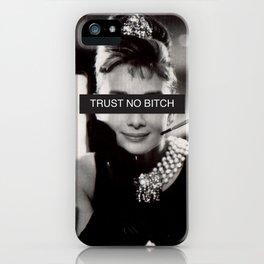 Ms. Hepburn iPhone Case