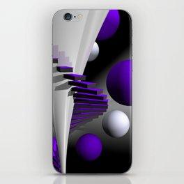 go violet -12- iPhone Skin