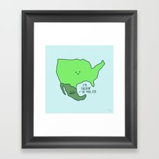 U.S.A Framed Art Print