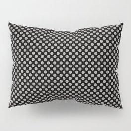 Black and Paloma Polka Dots Pillow Sham