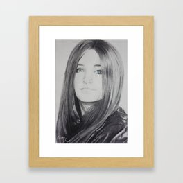 Paris Jackson Framed Art Print