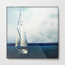 Milwaukee Sailing Metal Print
