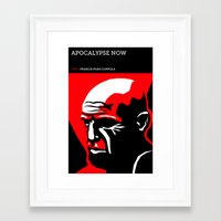 apocalypse now Framed Art Prints featuring Apocalypse Now by David Edward Johnson