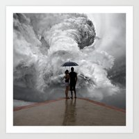 storm Art Prints featuring Storm by Cs025
