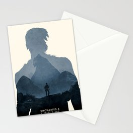Uncharted 4 Stationery Cards