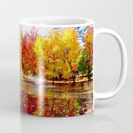 Autumn on the pond Coffee Mug