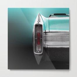 US American classic car 1965 Fleetwood Eldorado Convertible Metal Print