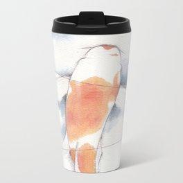 Stripped Metal Travel Mug