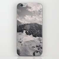 switzerland iPhone & iPod Skins featuring Switzerland BW by Heather Hartley