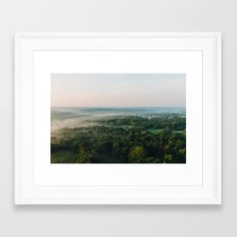 Kentucky from the Air Framed Art Print