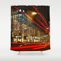 berlin Shower Curtains featuring Berlin! by Ricarda Balistreri