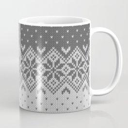Winter knitted pattern 8 Coffee Mug