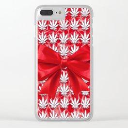 Merry Cannabis! Clear iPhone Case
