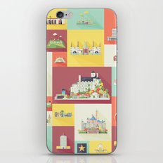 Los Angeles Landmarks iPhone & iPod Skin