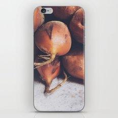 Golden Beets iPhone & iPod Skin