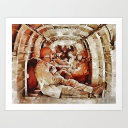Paratroopers, World War Two Art Print
